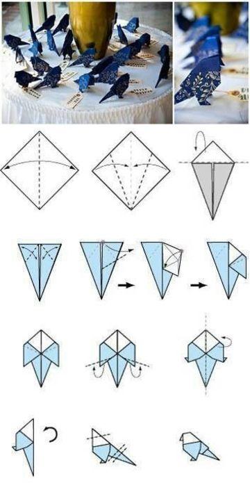 como hacer figuras de papiroflexia faciles