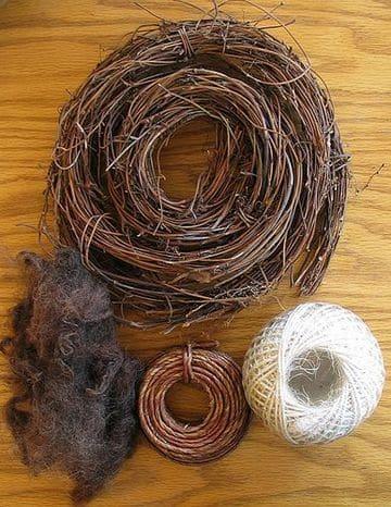 como hacer un nido de pajaro en casa