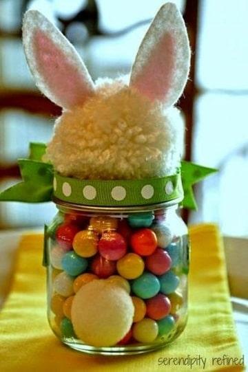 dulceros con frascos de gerber fiesta de niño