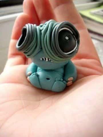 esculturas en porcelana fria pequeñas