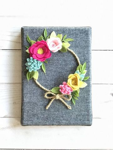 flores hechas con tela para cintillos