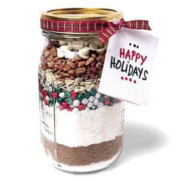 frascos con dulces para regalar en navidad