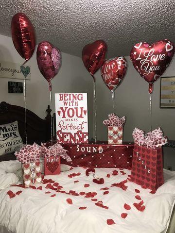 habitaciones decoradas con globos recien casados