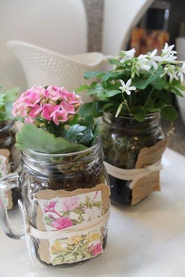 manualidades con frascos de cafe para decorar