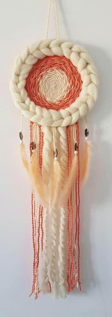 manualidades con hilo de lana para decorar