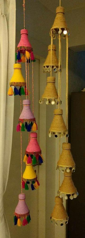 manualidades con potes de refresco para decorar