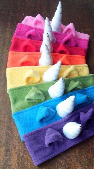 manualidades con tela polar bandana para niñas