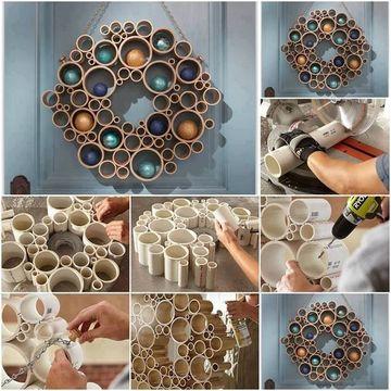 reciclar rollos de papel higienico para decorar