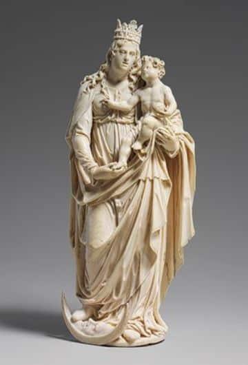 virgenes de madera para pintar de Fatima