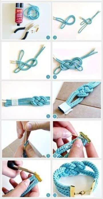 como hacer collares y pulseras paso a paso