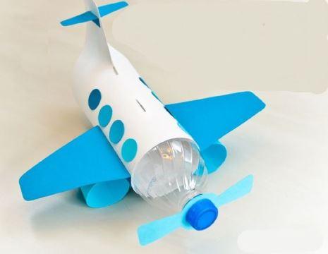 como hacer juguetes de plastico con botella de agua