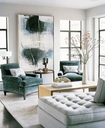 cuadros de salon modernos abstractos