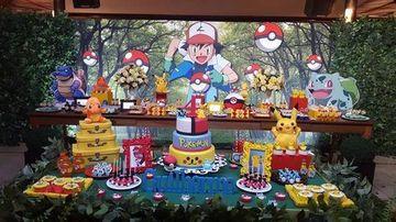 decoracion de pokemon para cumpleaños de niño