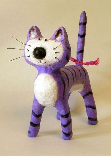 esculturas de papel mache para niños