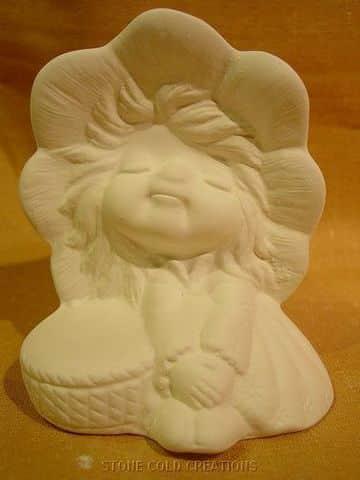 figuras de escayola para pintar muñeca