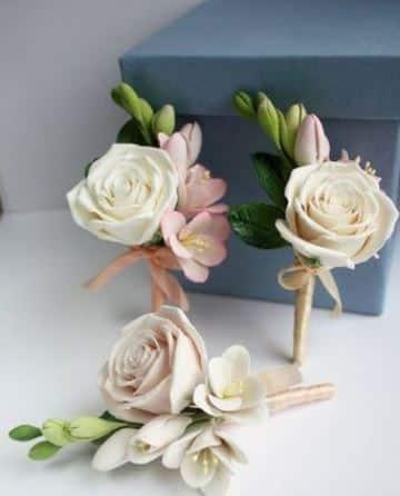 flores hechas con fomi para bodas