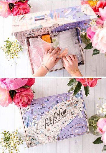 ideas para cajas de regalo para mujeres