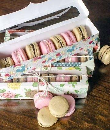 cajitas de carton para dulces con lindos diseños