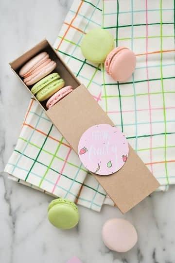 cajitas de carton para dulces sencillos