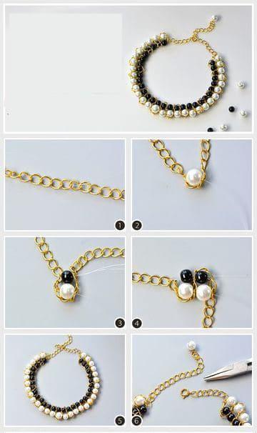 como hacer collares modernos y elegantes