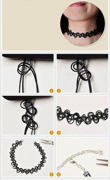 como hacer collares modernos y juveniles