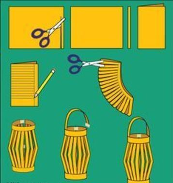 como hacer lamparas chinas colgantes