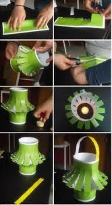 como hacer lamparas chinas faciles