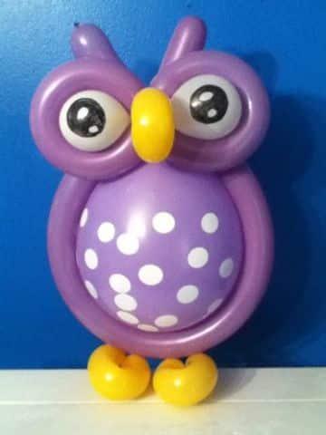 como hacer muñecos con globos faciles