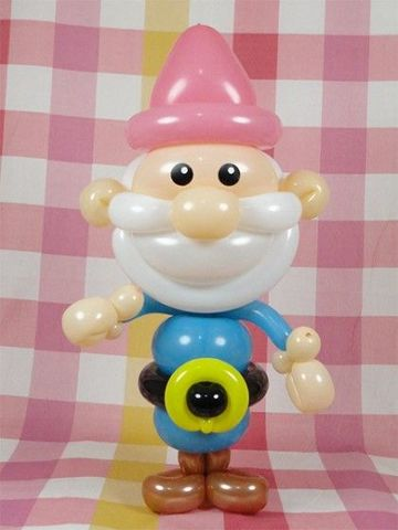 como hacer muñecos con globos para decorar fiestas infantiles