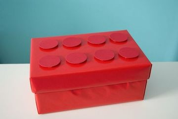 decorar cajas de carton infantiles para niños