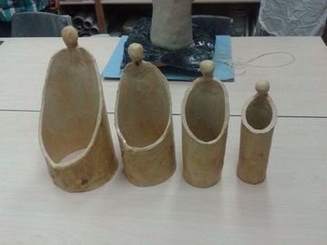 esculturas de arcilla faciles para decorar