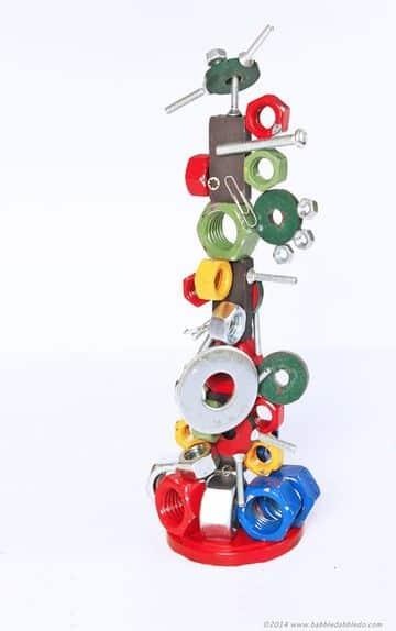 esculturas faciles para niños con iman