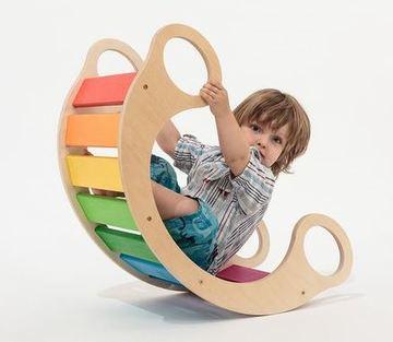 juguetes de madera para bebes para montarse