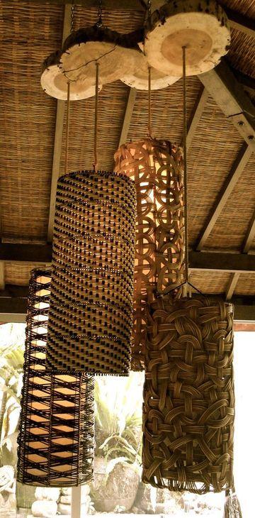 lamparas colgantes artesanales rusticas