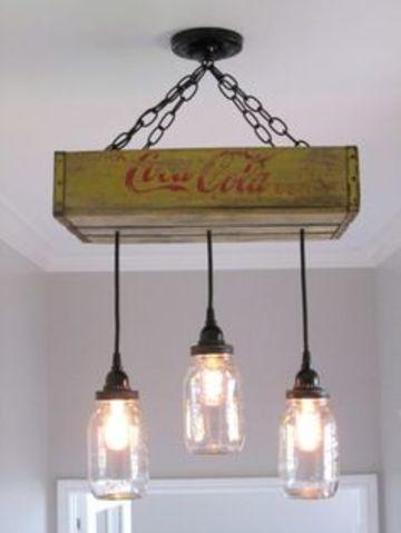 colgantes lamparas de recicladas diseños Originales WHD2YI9E