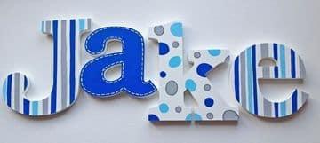 letras de madera infantiles para niños