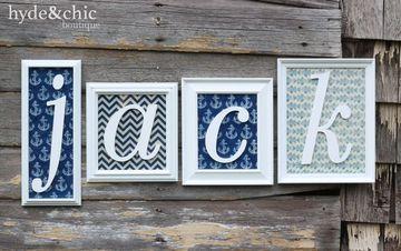 letras de madera para nombres para decorar habitaciones