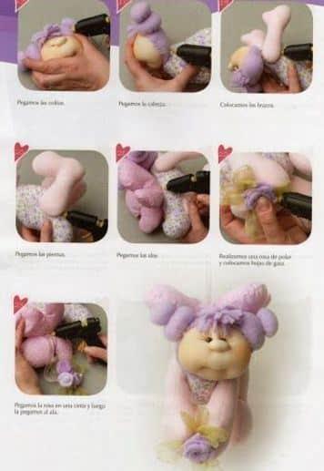 muñecas de lana paso a paso facil de hacer