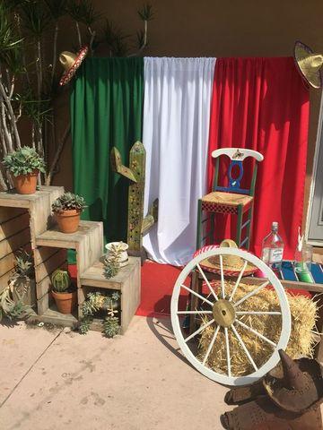 adornos patrios mexicanos para ambientacion