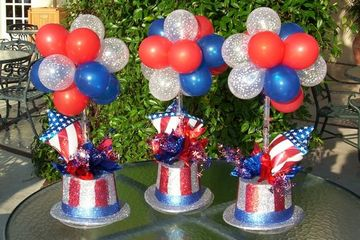 adornos por fiestas patrias para centros de mesa