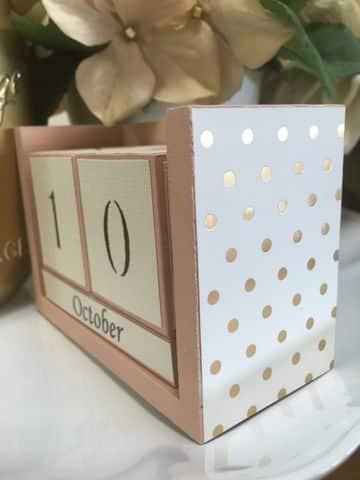 calendarios creativos hechos a mano con cartulina