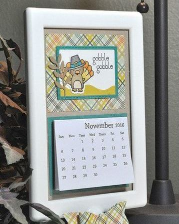 calendarios creativos hechos a mano facil de hacer