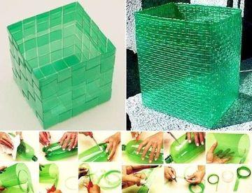 como hacer cosas de reciclaje con botellas plasticas