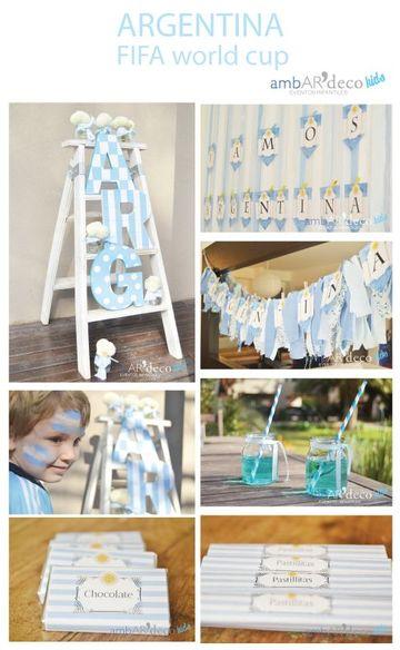 decoracion fiestas patrias argentinas en casa