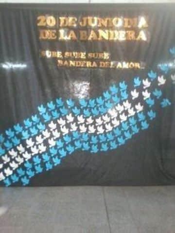decoracion fiestas patrias argentinas en la escuela