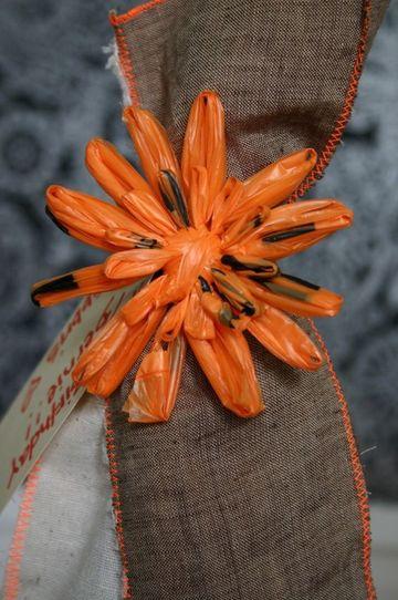flores con bolsas de plastico faciles de hacer