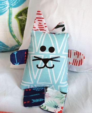 manualidades con telas para niños sencillas