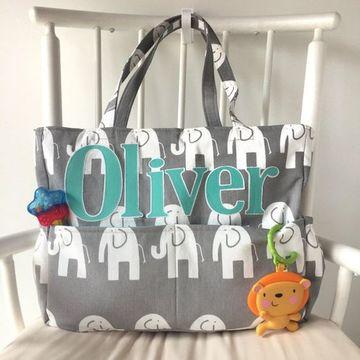 mochilas pañaleras para bebe personalizadas