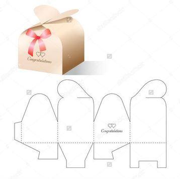 plantillas de cajas de carton para dulces