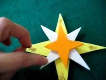 como hacer estrellas de fomi faciles